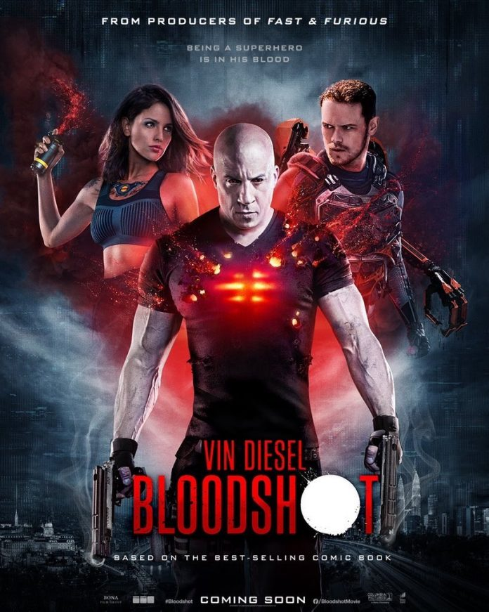 Bloodshot 2020 Full Movie Free Download HDRip