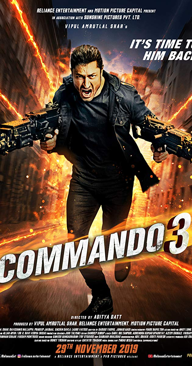 Commando 3 Full Movie Download Free 2019 HDRip 720p