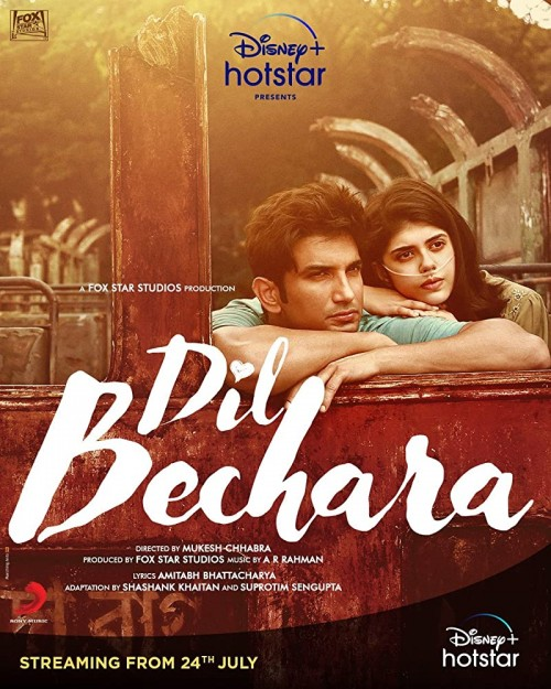 Dil Bechara 2020 Full Movie Free Download HD 720p