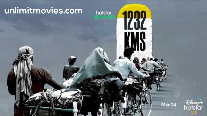 1232 KMs (2021) Hindi Dubbed Full Movie Free Download HD 720p