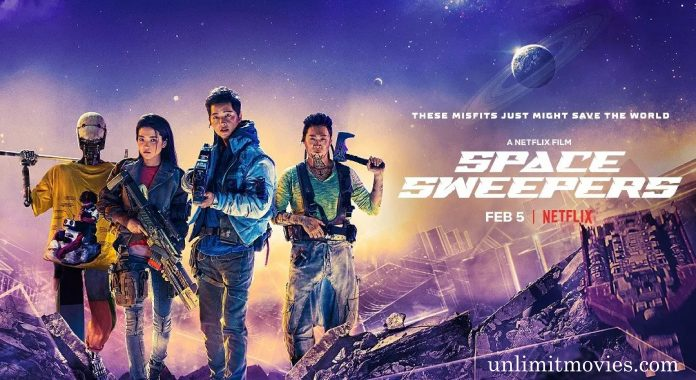 Space Sweepers (2021) Hindi Dubbed Full Movie Free Download HD 720p