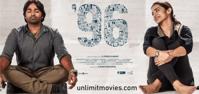 96 (2018) Hindi Dubbed Full Movie Free Download HD 720p