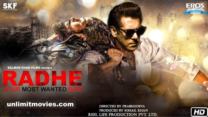 Radhe: Your Most Wanted Bhai (2021) Full Movie Free Download HD 720p