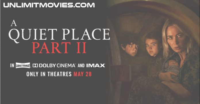 A Quiet Place Part II (2021) Full Movie Free Download HD 720p